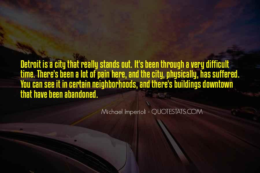 Stands Out Quotes #190747