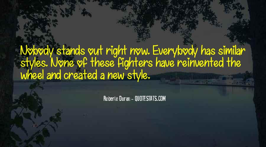Stands Out Quotes #592041
