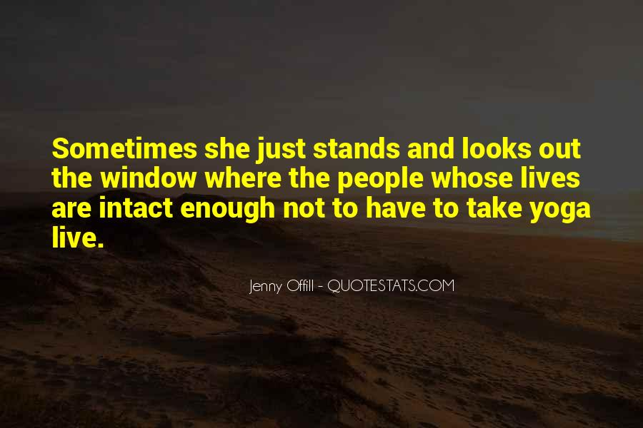 Stands Out Quotes #719817