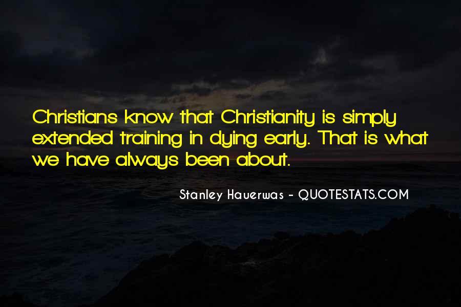 Stanley M Hauerwas Quotes #152425