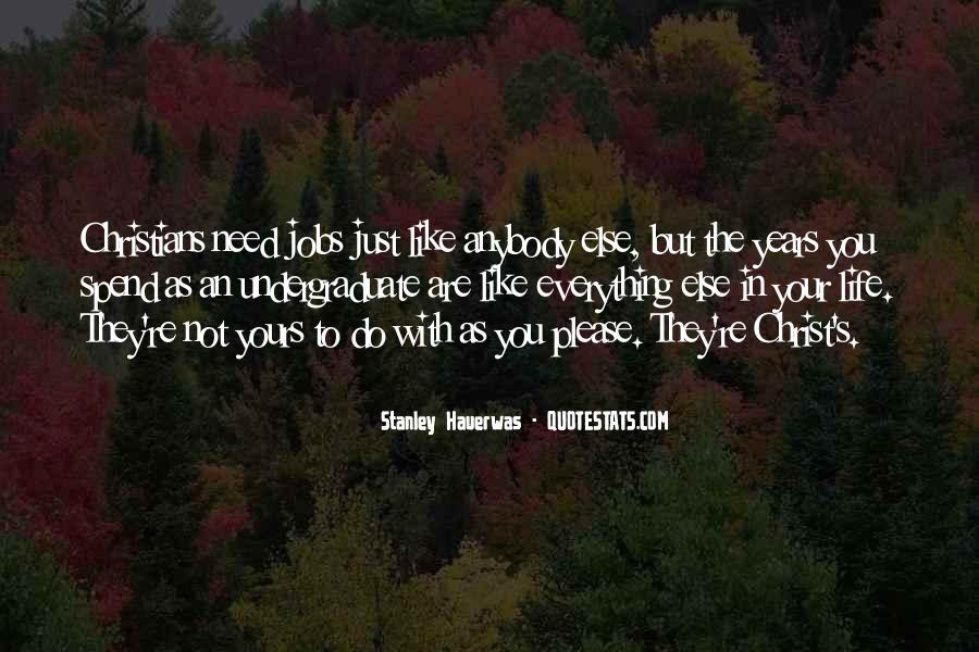 Stanley M Hauerwas Quotes #205986