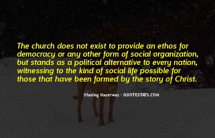 Stanley M Hauerwas Quotes #231285