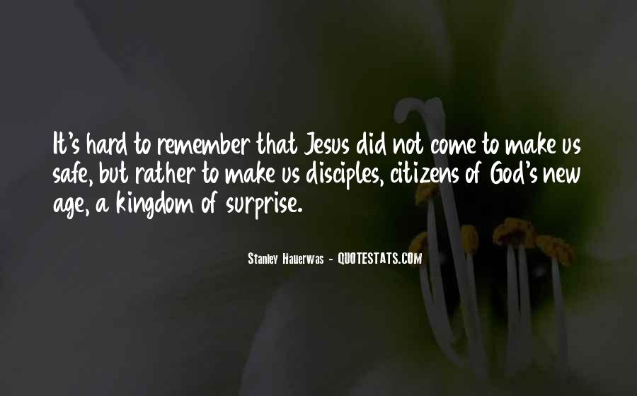 Stanley M Hauerwas Quotes #42092