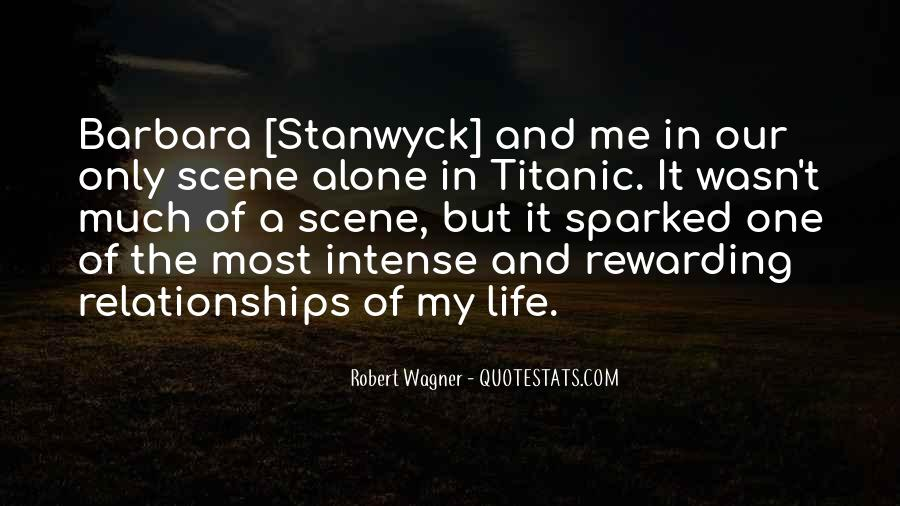 Stanwyck Quotes #10892