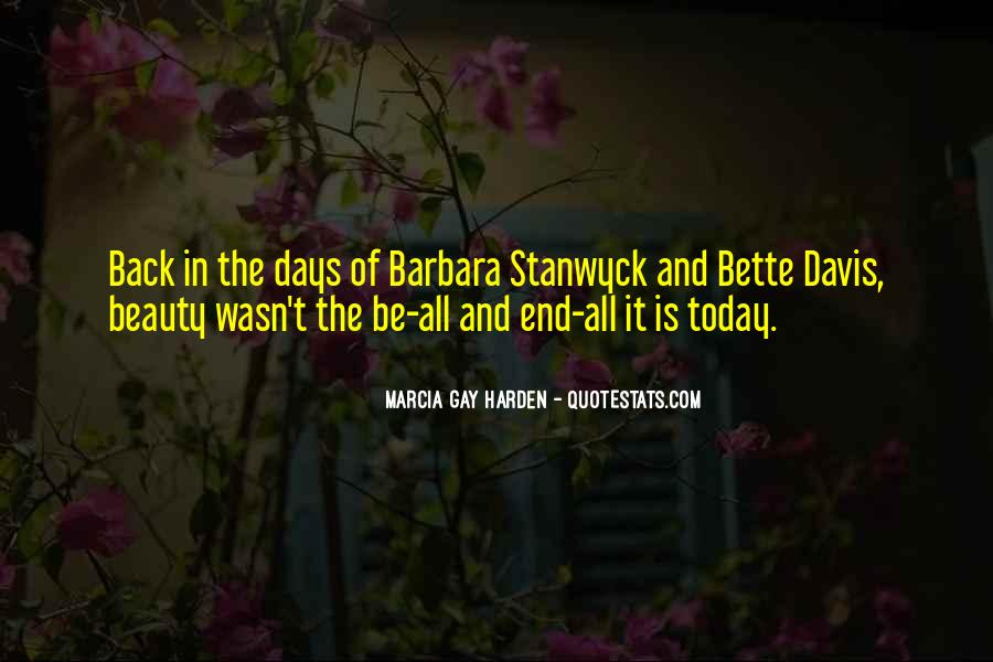 Stanwyck Quotes #1118969