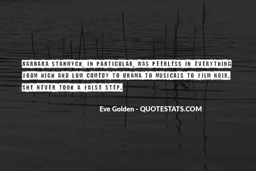 Stanwyck Quotes #1802462