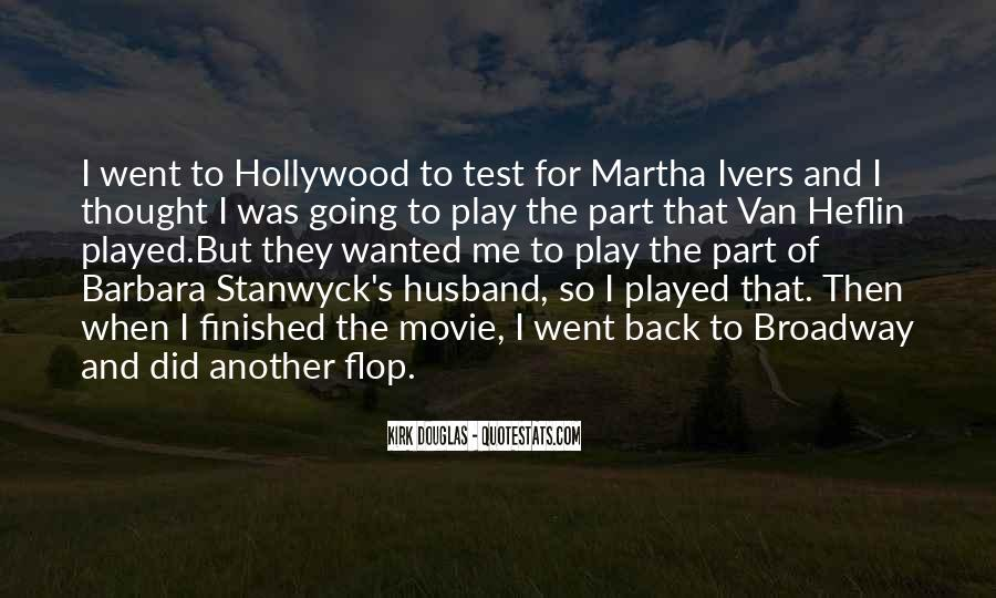 Stanwyck Quotes #302978