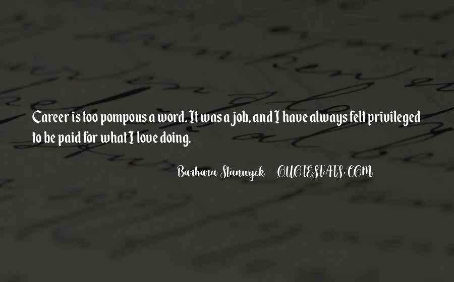 Stanwyck Quotes #428840