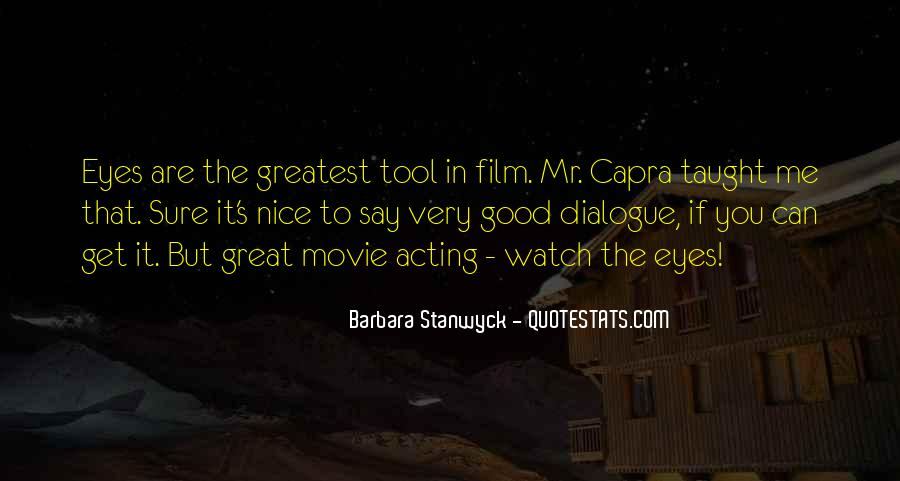 Stanwyck Quotes #746359