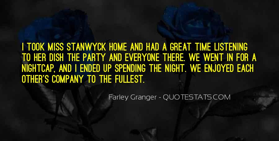 Stanwyck Quotes #813599