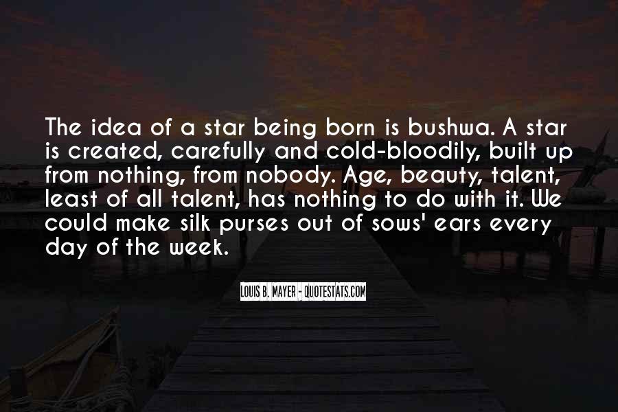Star Born Quotes #1776688
