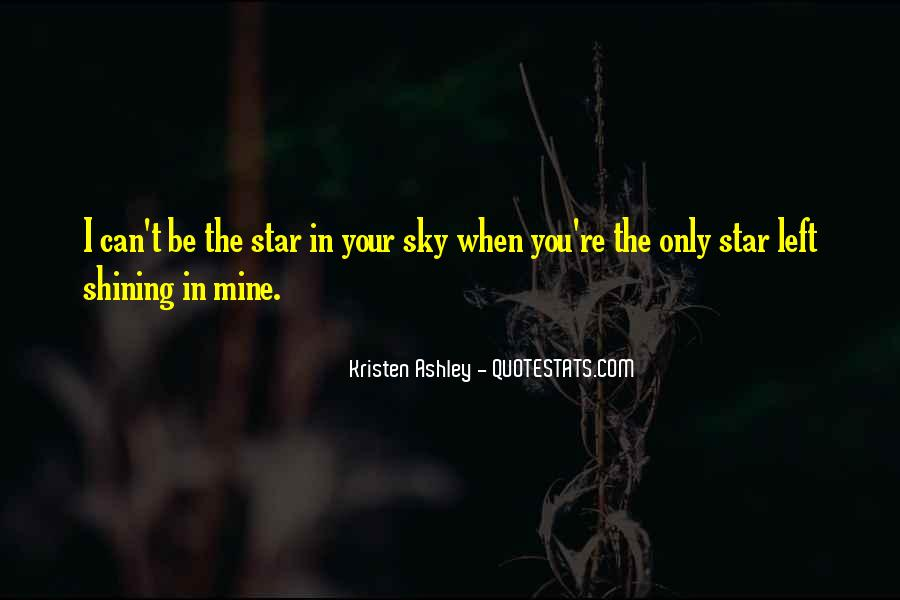 Star In Sky Quotes #205342