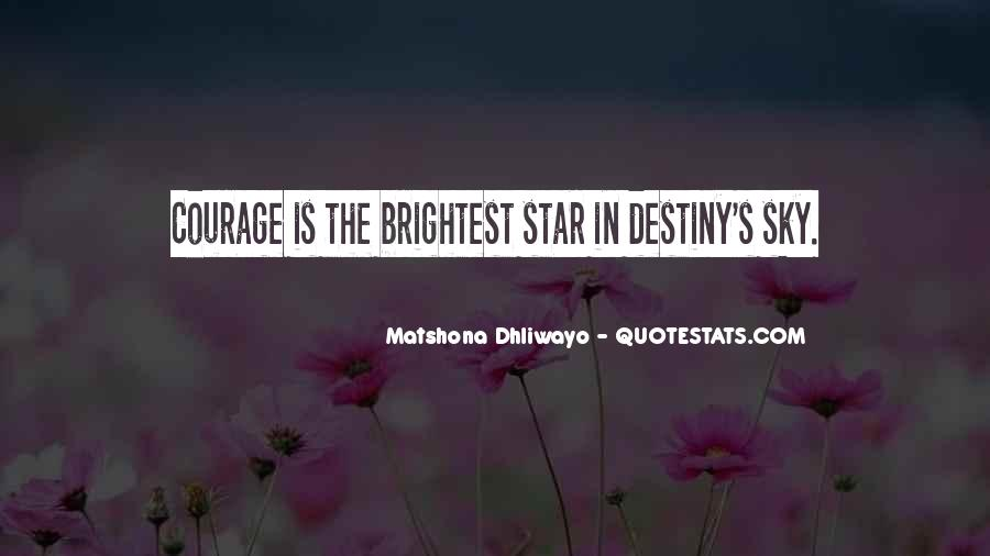 Star In Sky Quotes #599351
