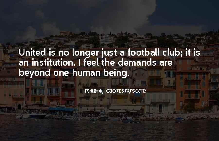 Quotes About Matt Busby #1100336