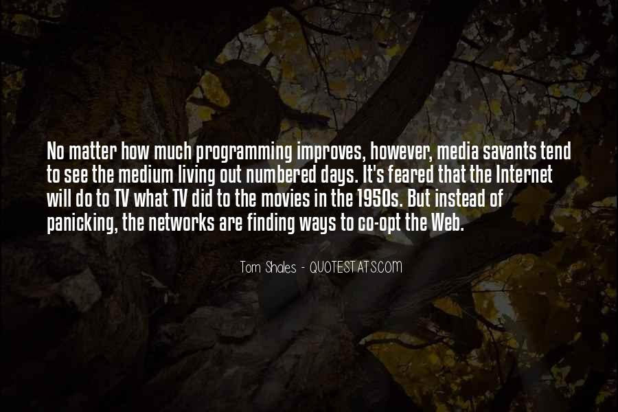 Quotes About 1950s Tv #1746575