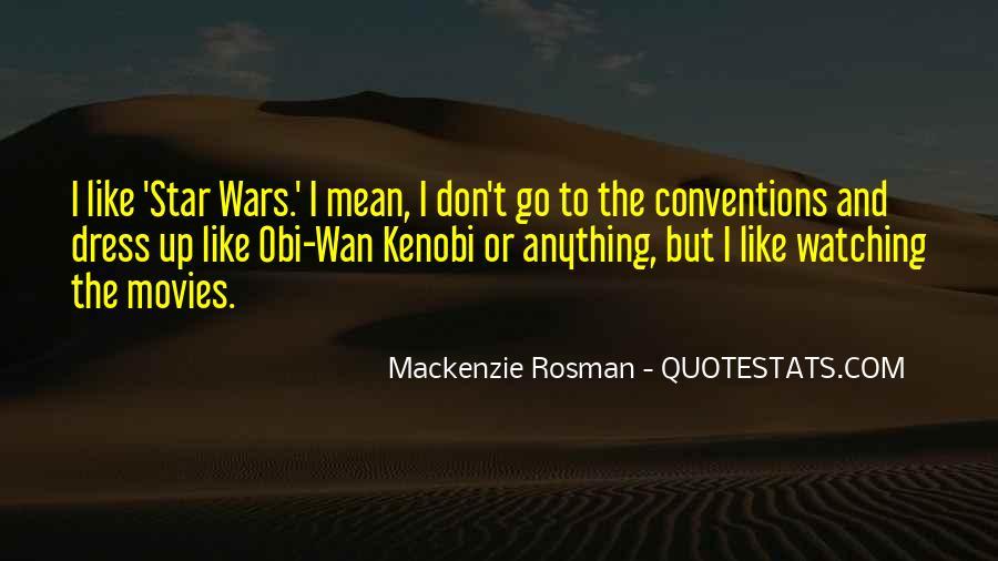 Star Wars Obi Wan Quotes #1295429
