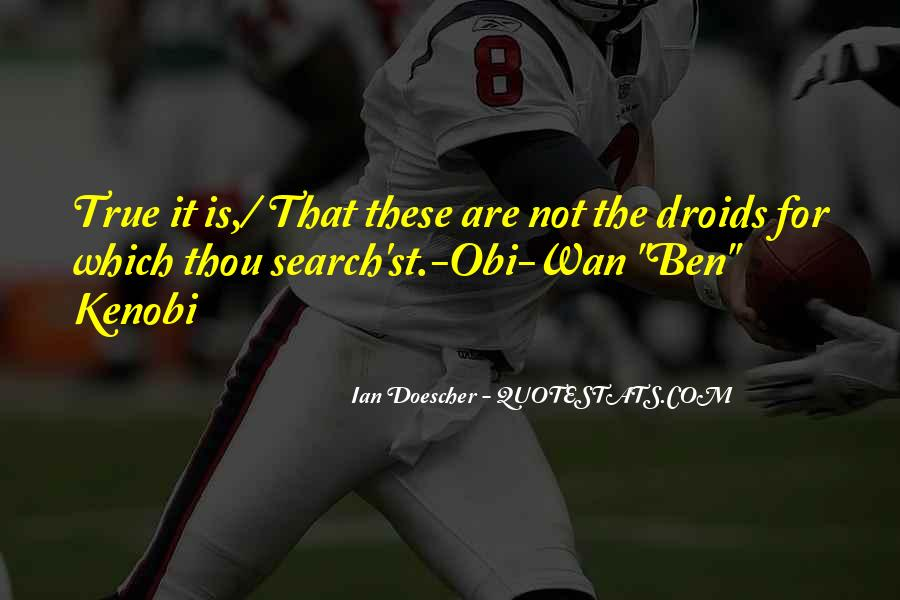 Star Wars Obi Wan Quotes #438809