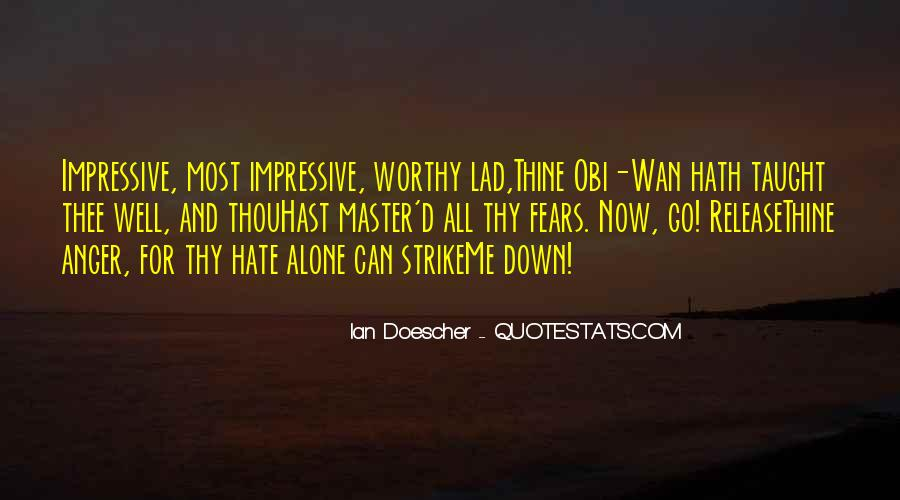 Star Wars Obi Wan Quotes #738419