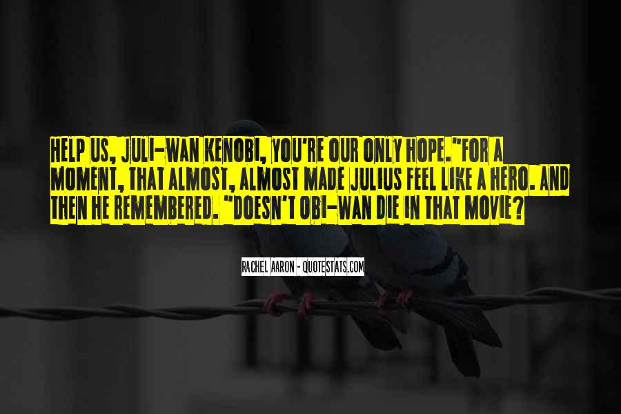 Star Wars Obi Wan Quotes #765747