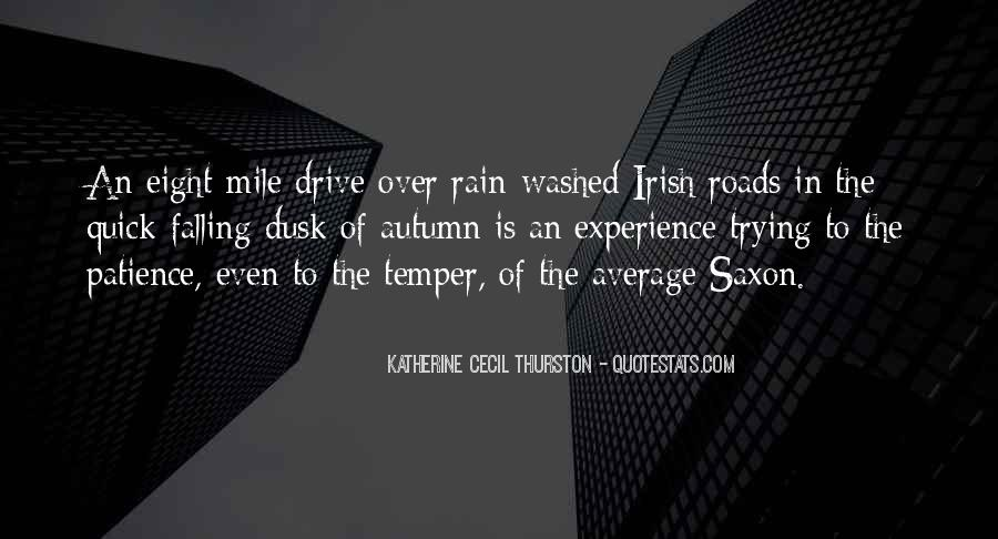 Quotes About Autumn Rain #1244174
