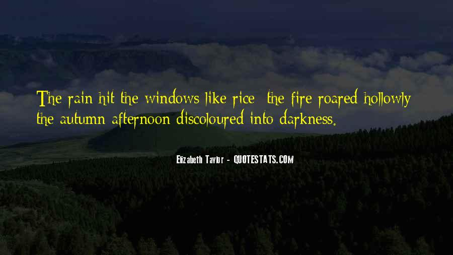 Quotes About Autumn Rain #1338541