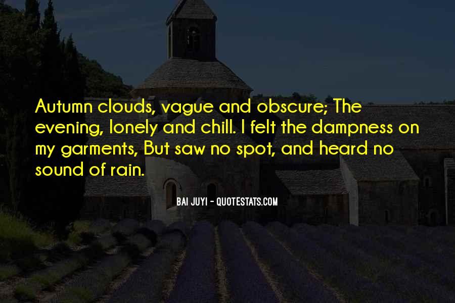 Quotes About Autumn Rain #1407301