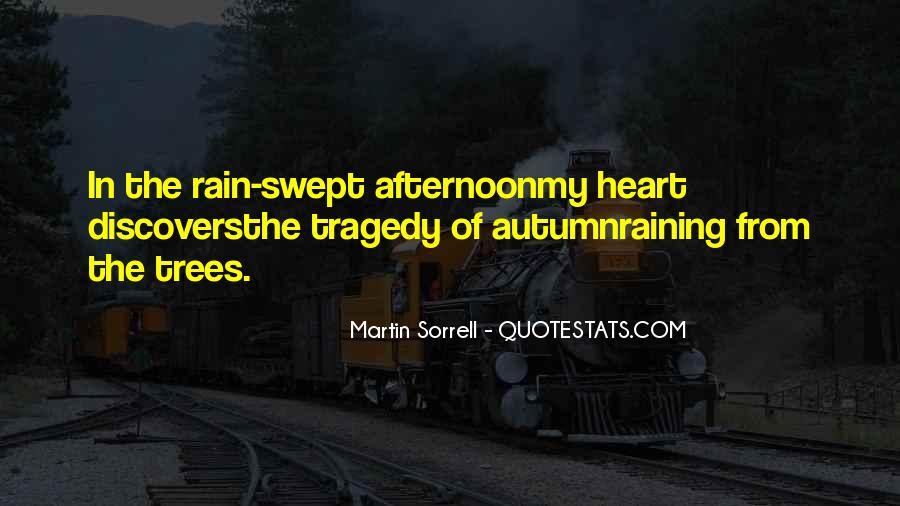 Quotes About Autumn Rain #1462105