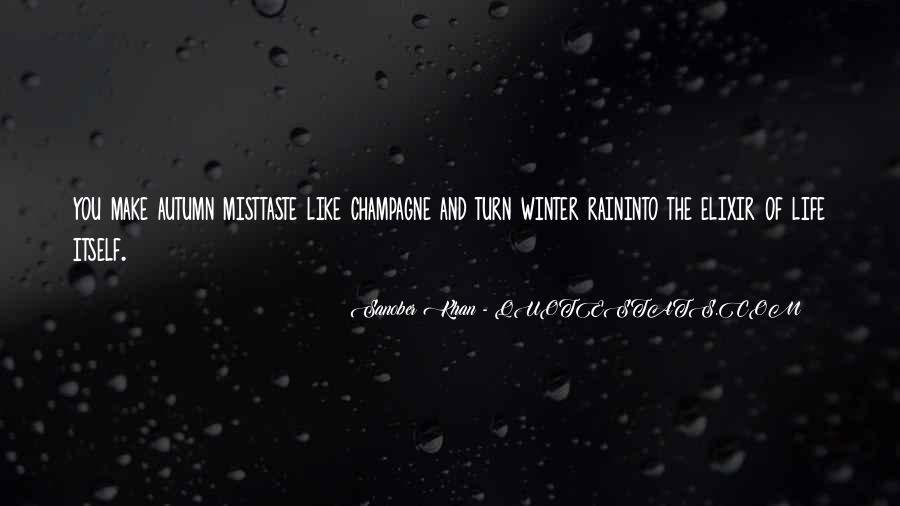 Quotes About Autumn Rain #1701114