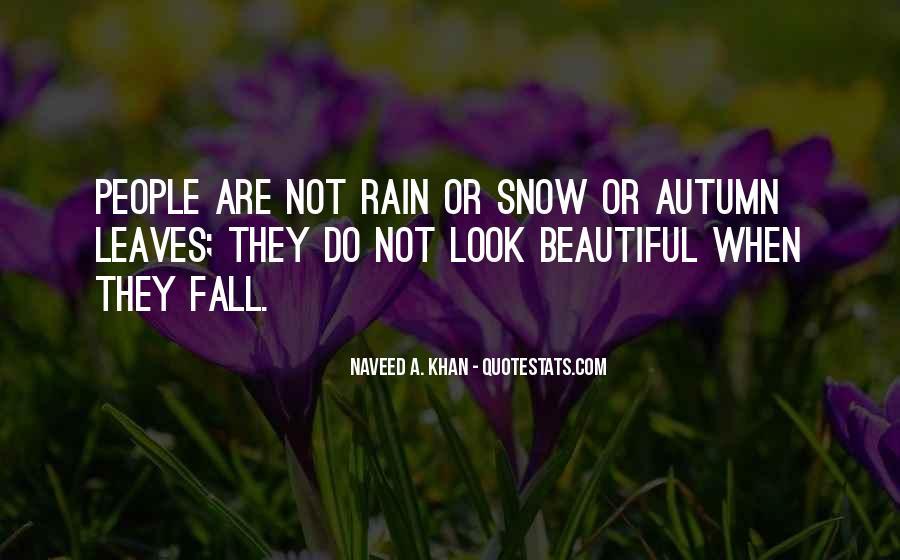 Quotes About Autumn Rain #1715232