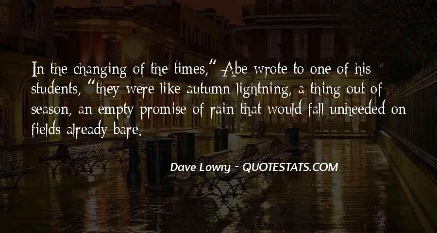 Quotes About Autumn Rain #394020