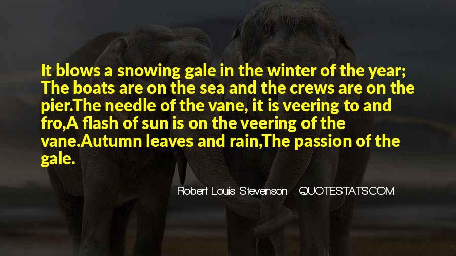 Quotes About Autumn Rain #399771