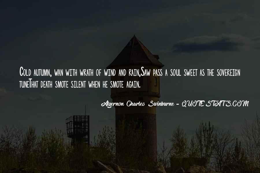 Quotes About Autumn Rain #538442