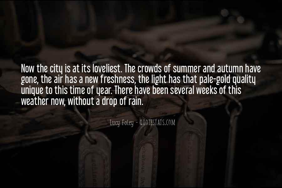 Quotes About Autumn Rain #657804