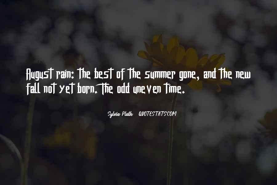 Quotes About Autumn Rain #860374