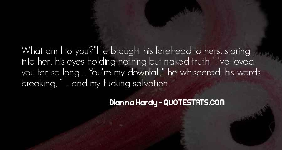 Staring Into Her Eyes Quotes #1171903