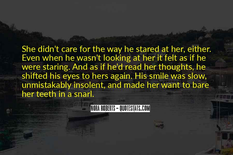 Staring Into Her Eyes Quotes #209932