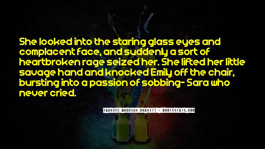 Staring Into Her Eyes Quotes #413326