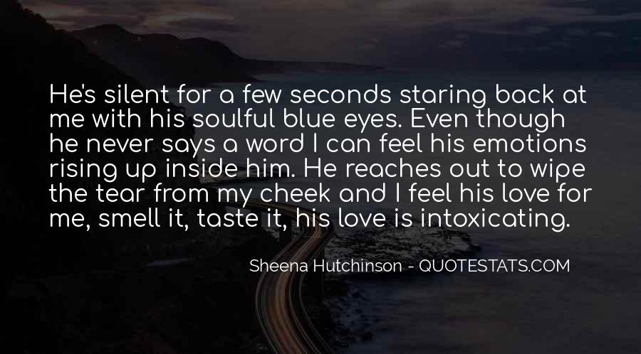 Staring Into Her Eyes Quotes #438101