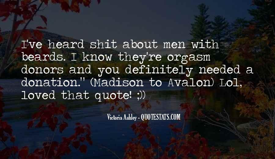 Quotes About Avalon #1165067