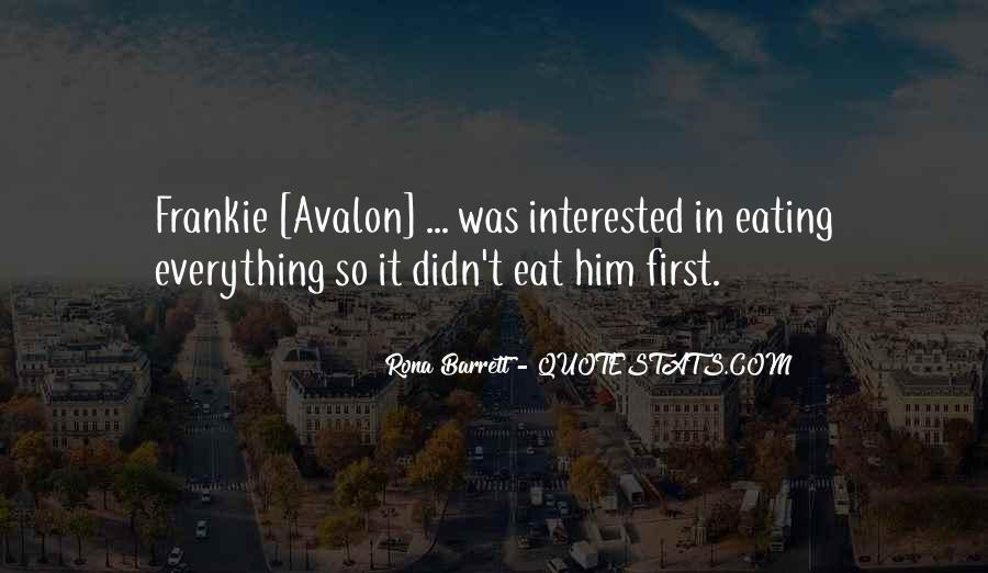 Quotes About Avalon #1453137