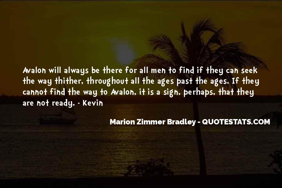 Quotes About Avalon #1493187