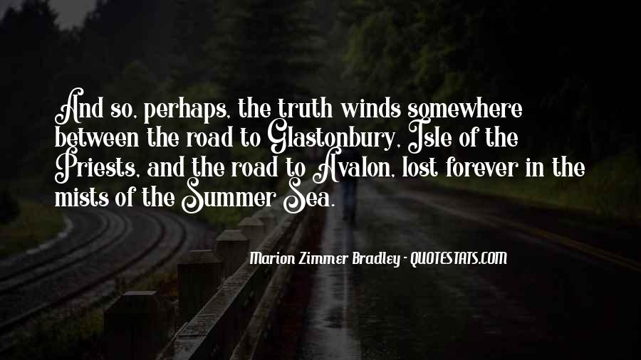 Quotes About Avalon #1528415