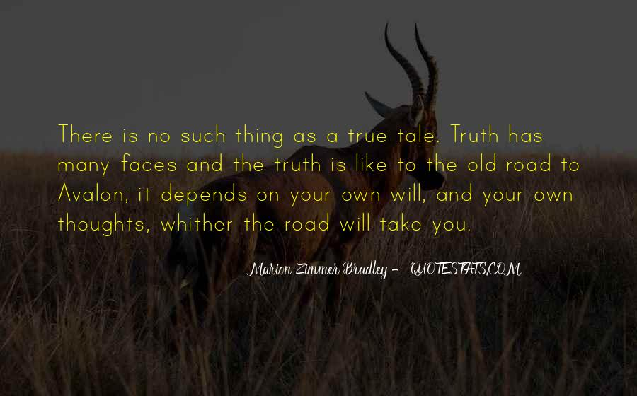 Quotes About Avalon #436598