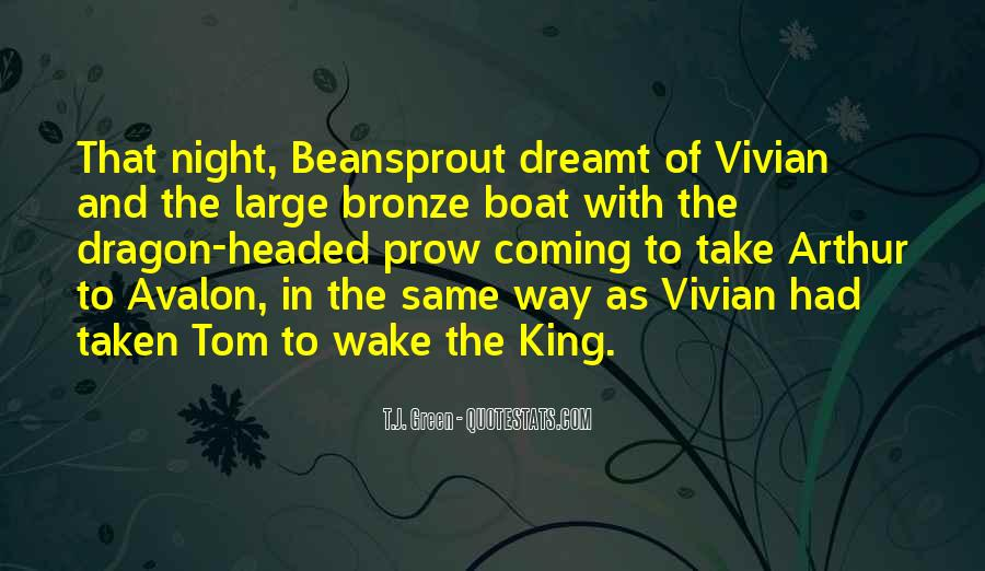 Quotes About Avalon #81196