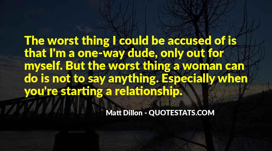 Starting Relationship Quotes #1868710