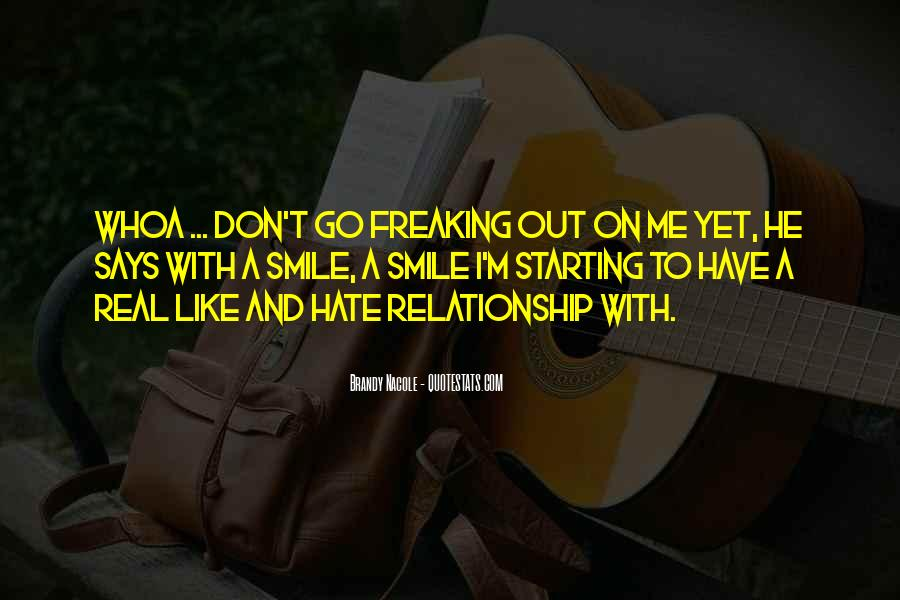 Starting Relationship Quotes #513754