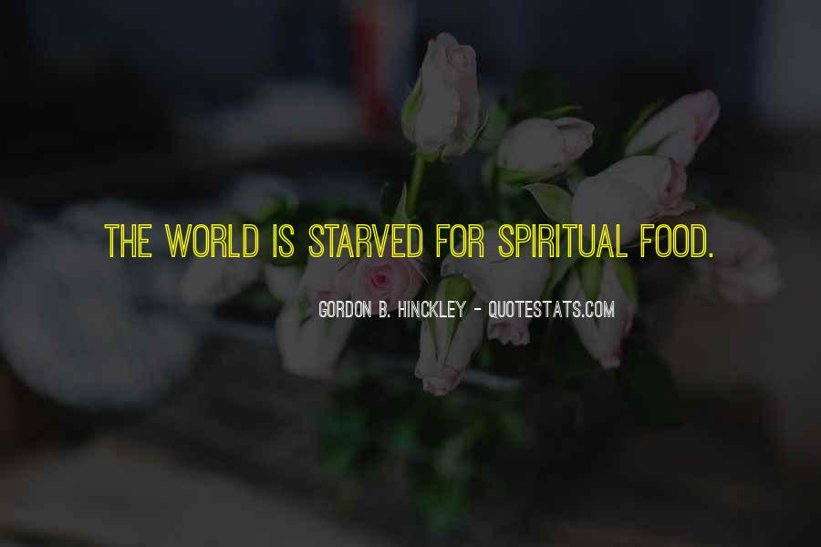 Starved Quotes #100418