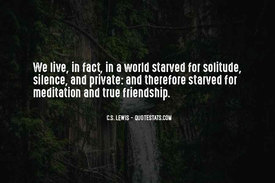 Starved Quotes #15981
