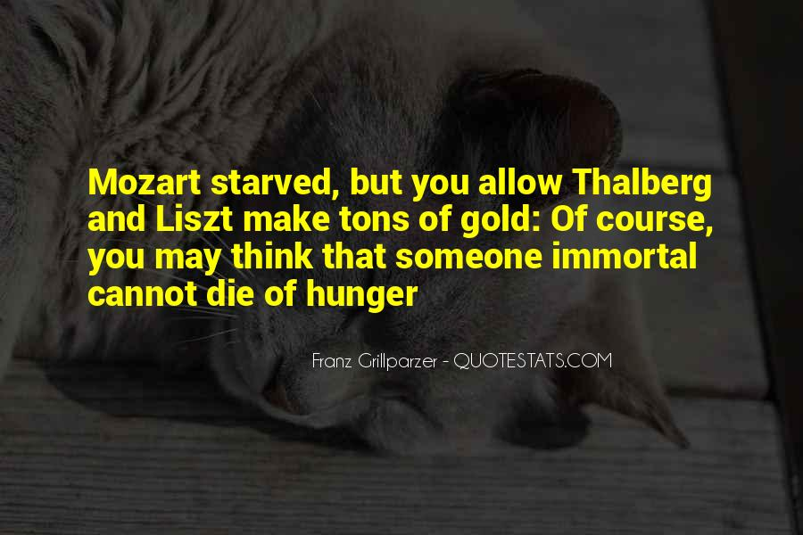 Starved Quotes #23666