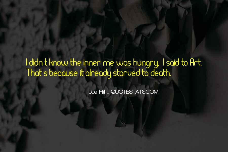 Starved Quotes #34570
